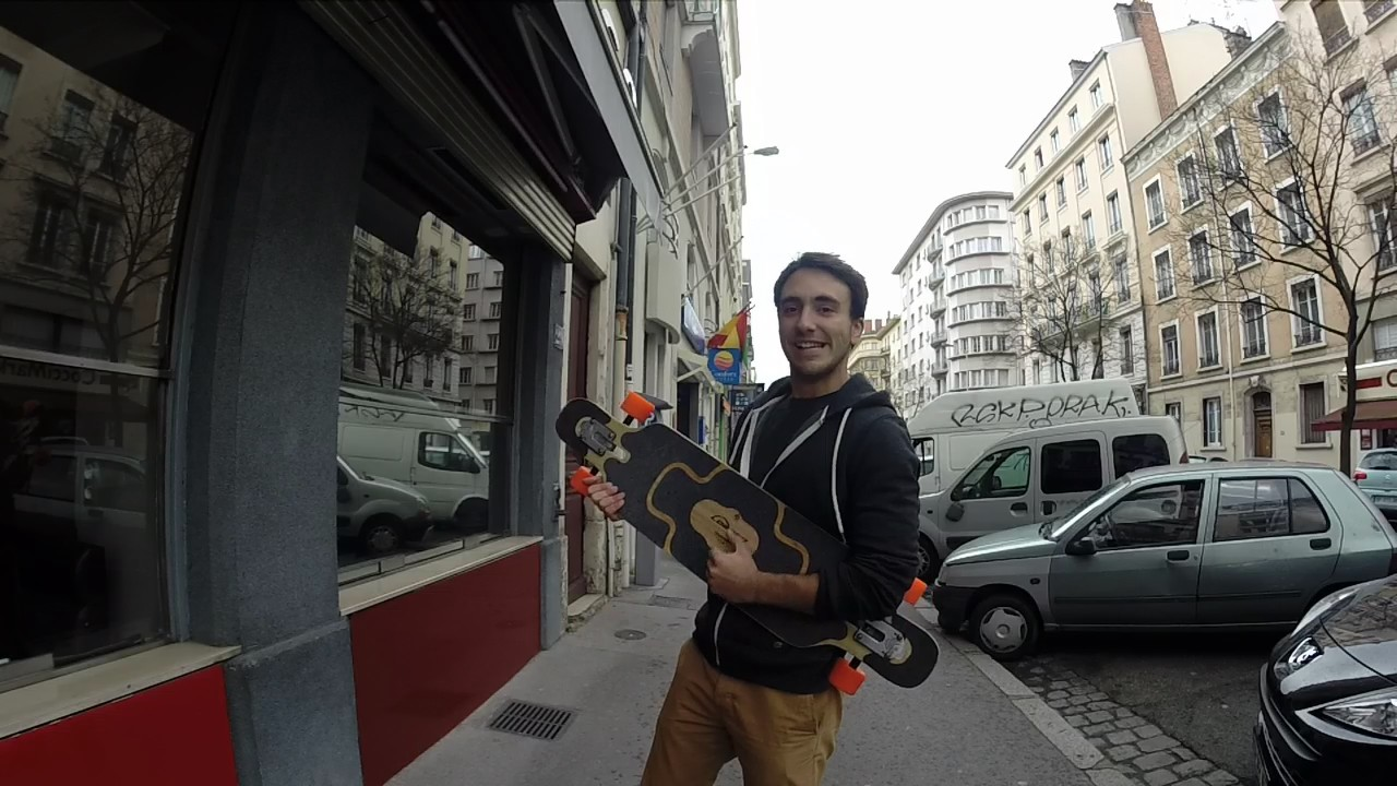 Déplacement alternatif : Long Board, Vélo, Roller, …